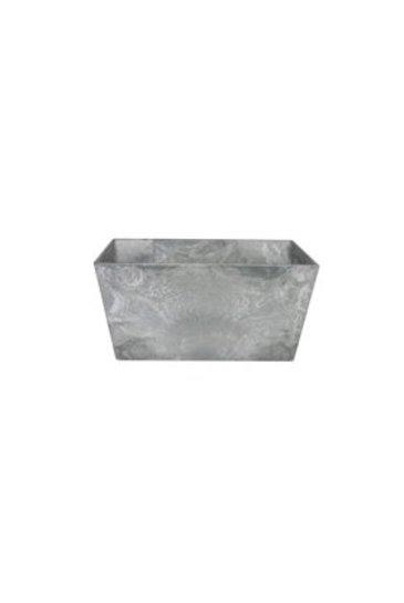 Artstone Ella bowl grijs (Kunststof bloempot)