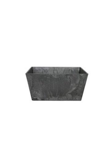 Artstone Ella bowl zwart (Kunststof bloempot)