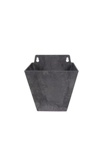 Artstone Ella wall hanger zwart (Kunststof bloempot)