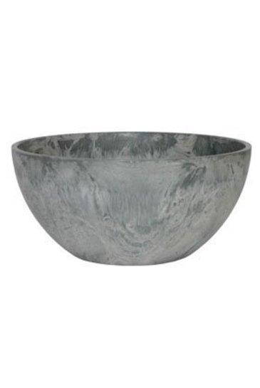 Artstone Fiona bowl grijs (Kunststof bloempot)