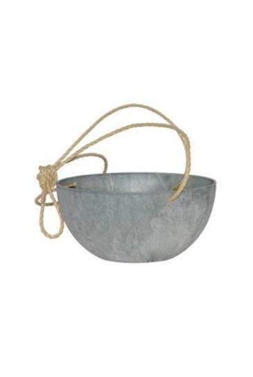 Artstone Fiona hanger grijs (Kunststof bloempot)