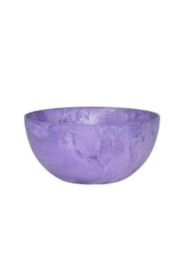 Artstone Fiona bowl grape (Kunststof bloempot)
