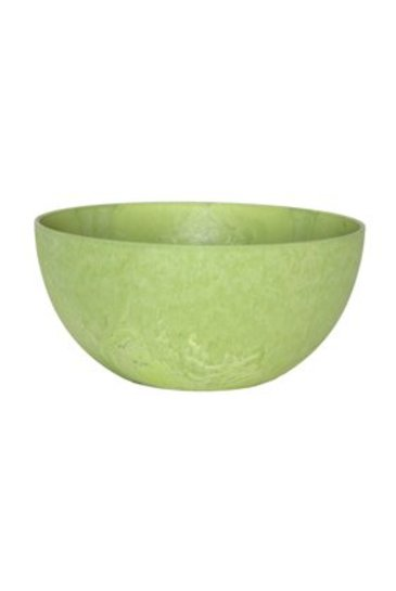 Artstone Fiona bowl lime (Kunststof bloempot)