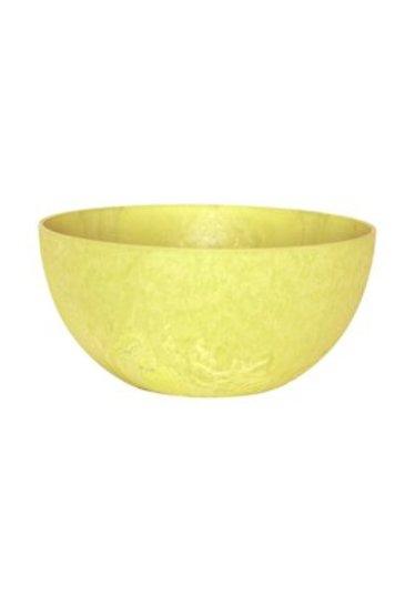 Artstone Fiona bowl lemon (Kunststof bloempot)