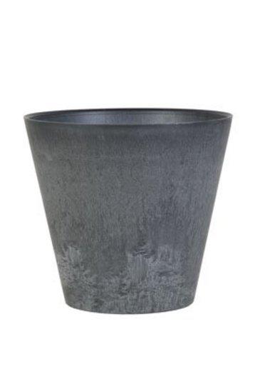 Artstone Claire pot zwart (Kunststof bloempot)