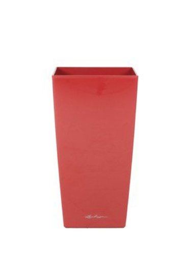 Lechuza Cubico Scarlet rood (Kunststof plantenbak)