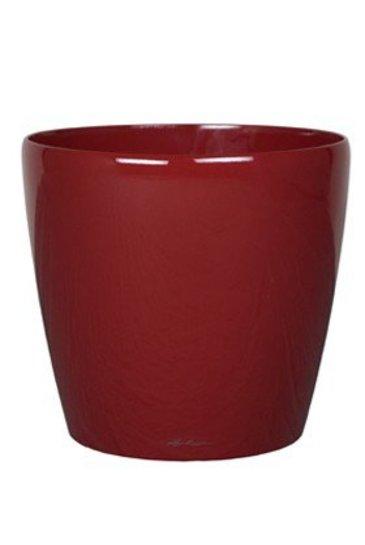 Lechuza Classico Scarlet rood (Kunststof plantenbak)