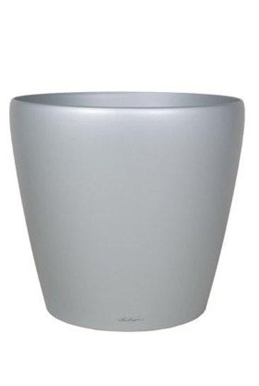 Lechuza Classico Zilver (Kunststof plantenbak)
