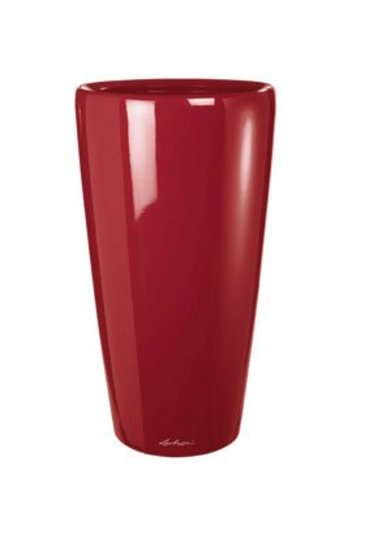 Lechuza Rondo Scarlet rood (Kunststof plantenbak)