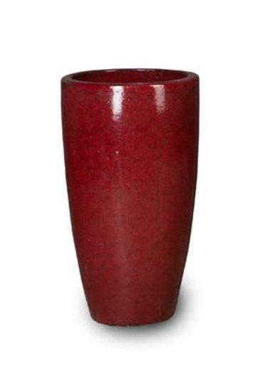 Classic Red Partner (Keramieken bloembak)