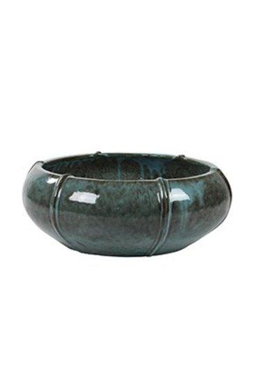 Turquoise Bowl Moda (Keramieken bloembak)