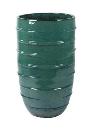 Turquoise Partner Beauty (Keramieken bloembak)
