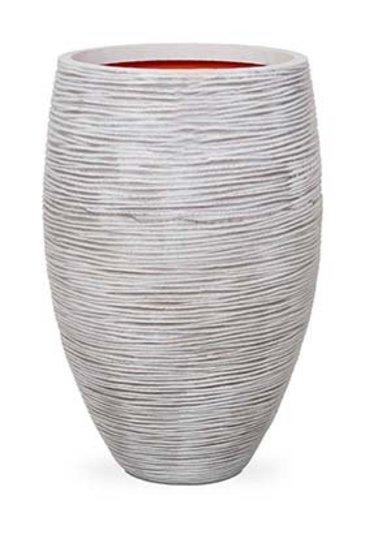 Capi Tutch Rib Vaas elegant deluxe ivoor (Capi Europe)