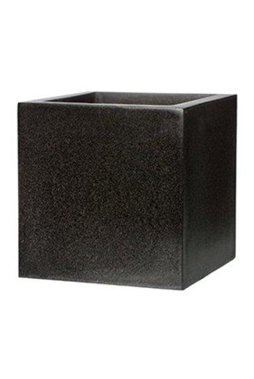 Capi Lux Pot vierkant VII zwart (Capi Europe)