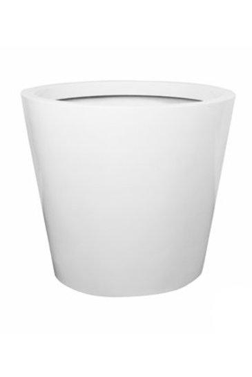 Fiberstone Glossy white jumbo cone M