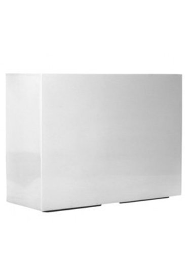 Fiberstone Glossy white jort L