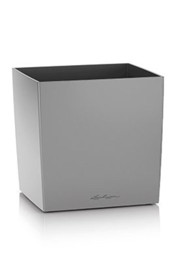 Lechuza Cube Zilver Metallic