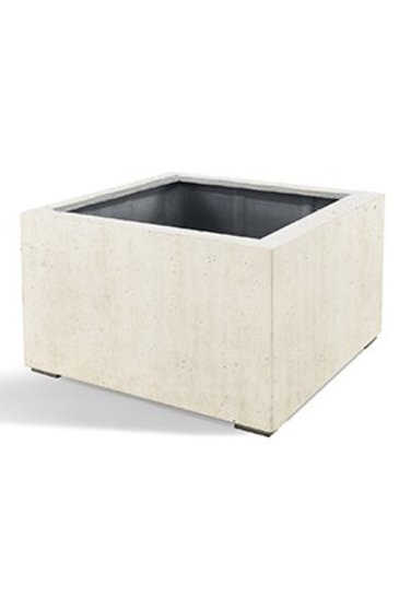 D-Lite Low Cube M Wit-Beton Kleur