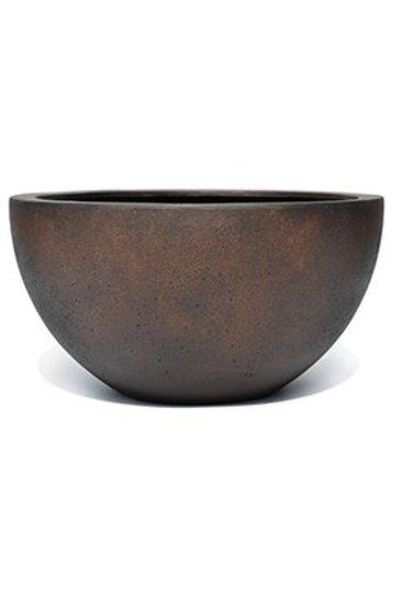 D-Lite Low Egg Pot S Roest-Beton Kleur