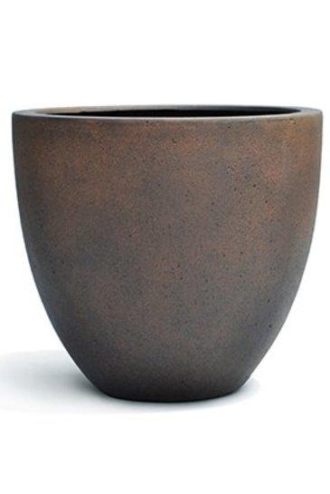 D-Lite Egg Pot S Roest-Beton Kleur