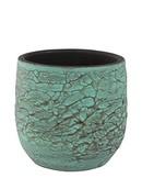 Pottery Pot Evi Antiq Bronze