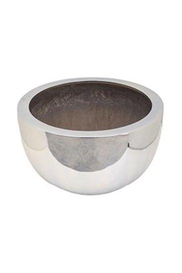 Fiberstone Platinum Silver Bowl L