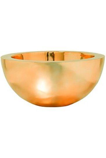 Fiberstone Platinum Glossy Gold Vic Bowl L