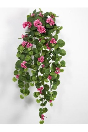 Kunstplant Geranium Hanging bush