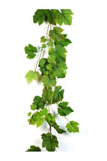 Kunstplant Grape leaf garland Natural