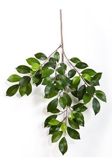 Kunstplant Ficus folia spray