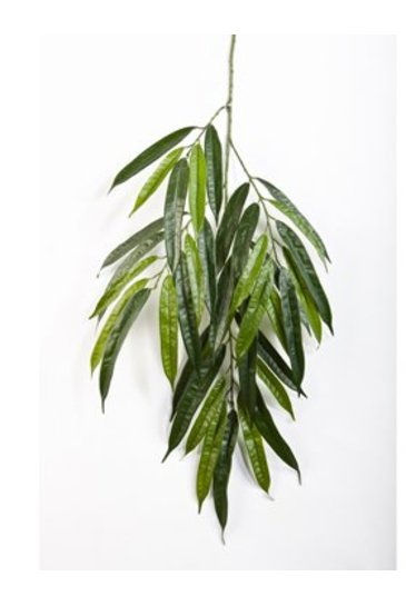 Kunstplant Longifolia spray De luxe (brandvertragend)