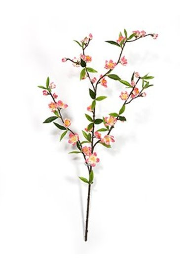 Kunstplant Cherry blossom spray Rose