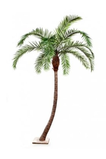Kunstplant Phoenix palm curved
