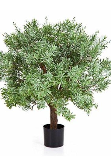 Kunstplant Crossostephium ball Tree