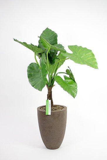 Kunstplant Alocasia Calidora - (Zijdeplant) - in Capi Vaas