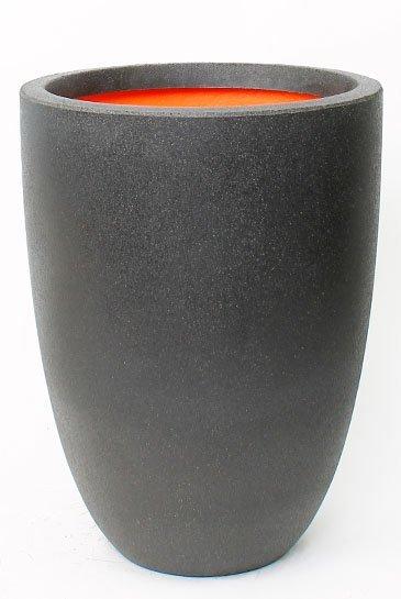 Capi Tutch Vaas elegance laag II zwart (Capi Europe)