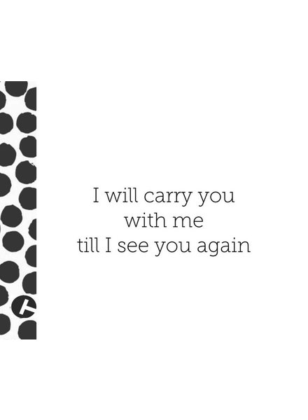 WORKSHOP IN MEMORIAM BAG