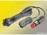 HABA 12v adapterkabel 4 m uni stekker