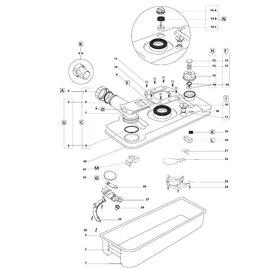 Thetford Tekening Cassette C2/C3/C4