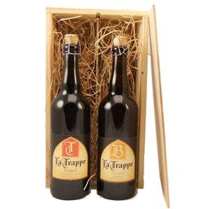 Bierkist La Trappe Tripel en Blond