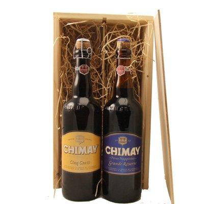 Bierkist Chimay Grande Reserve & Cinq Cents