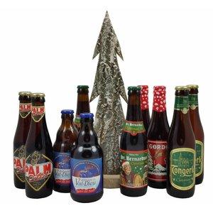 Kerstbieren onder de boom