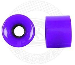Land Surfer Skateboard wheels purple (set of 2 pieces)