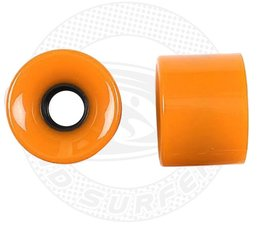 Land Surfer Skateboard wielen oranje (set van 2 stuks)