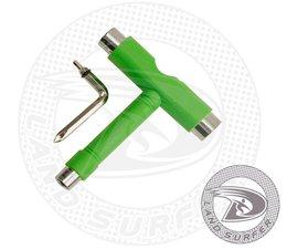 Land Surfer Skateboard tool green