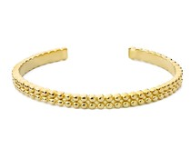 Speechless Jewelry Bracelet - Bubble - Gold Colored