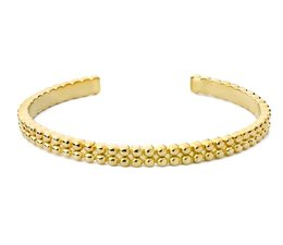 Speechless Jewelry Armband - Bubble - Gelb Gold-Plating