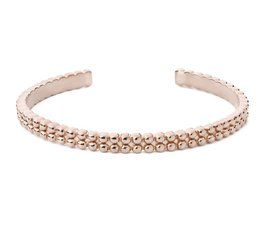 Speechless Jewelry Bracelet - Bubble - Rosé Colored