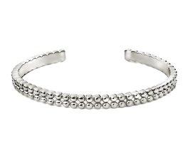 Speechless Jewelry Armband - Bubble - Weiß Gold-Plating