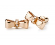 Speechless Jewelry Earrings - Bow - Rosé Colored